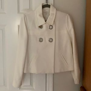 Ladies jacket with silver circle detail